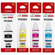 Cerneala Canon Originala GI-490 (4 culori)
