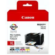 Cartuș Canon PGi-1400XL  Bk/C/M/Y Multipack
